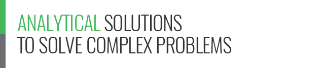 Analytical solutions to solve complex problems